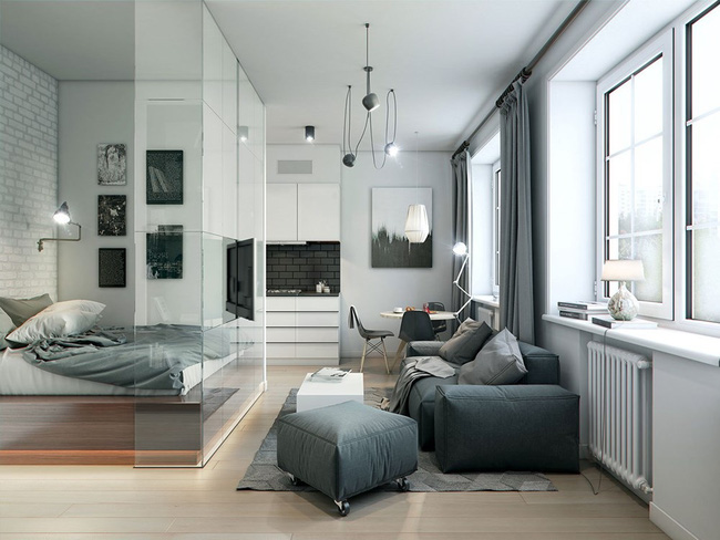 5 cách design phòng bedroom thoáng rộng (9)