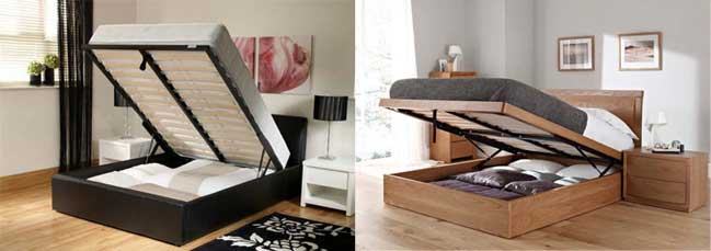 Giường tích hợp tủ treo quần áo