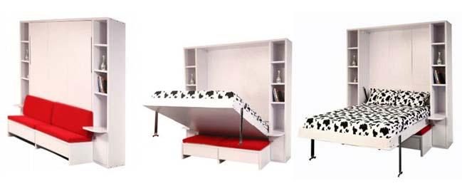 Giường gấp - murphy bed nên xếp đặt cho phòng bedroom nhỏ