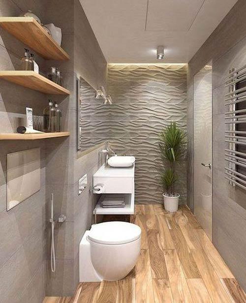 Gạch phòng tắm mẫu gạch vân gỗ
