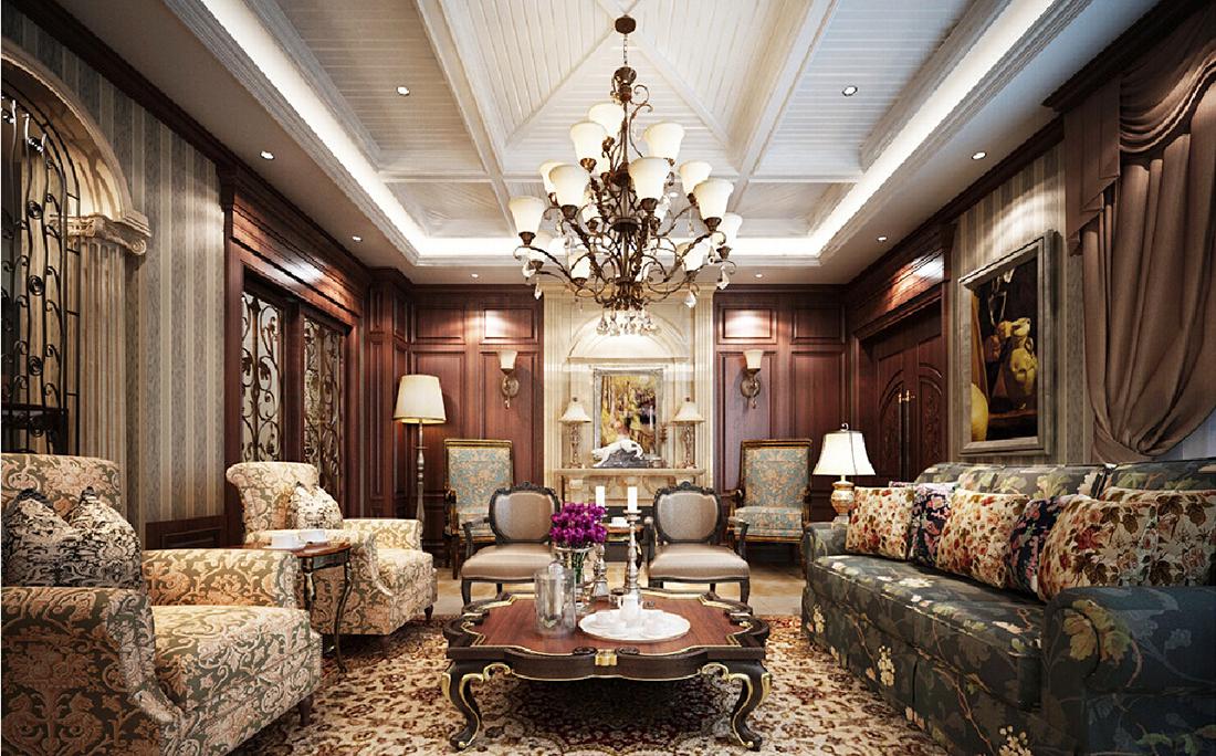 Thiết kế nội thất chung cư theo phong cách cổ điể