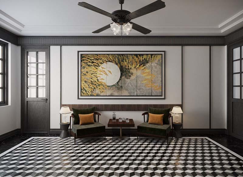 design nội thất đông dương